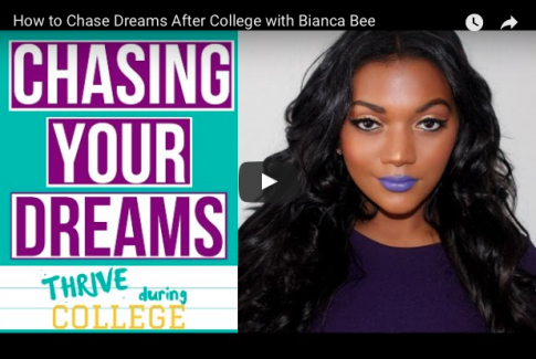 How to Chase Your Dreams After College with Bianca Bee
