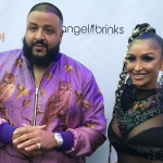 Dj Khaled and Angel Brinks