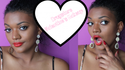 Drugstore Valentine's Makeup Tutorial
