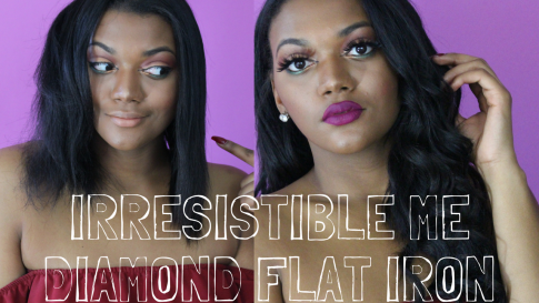 Irresistible mediamond flat iron
